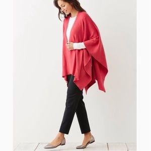 JJill Shawl Poncho Cape Cover One Size